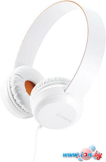 Наушники с микрофоном Cresyn C260H (белый) в Могилёве