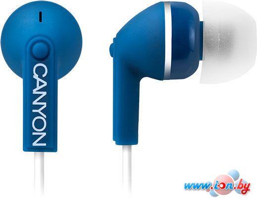 Наушники Canyon CNS-CEP01 (синий) [CNS-CEP01BL] в Могилёве