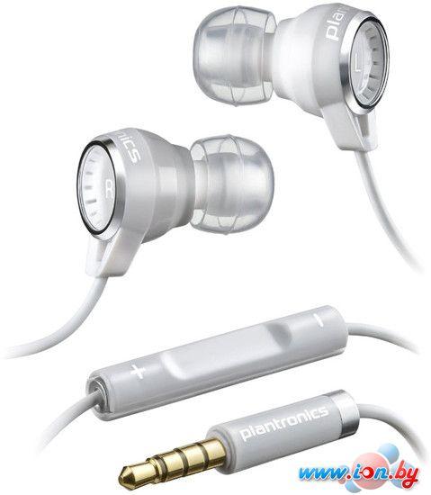 Наушники с микрофоном Plantronics Backbeat 216 (белый) в Могилёве