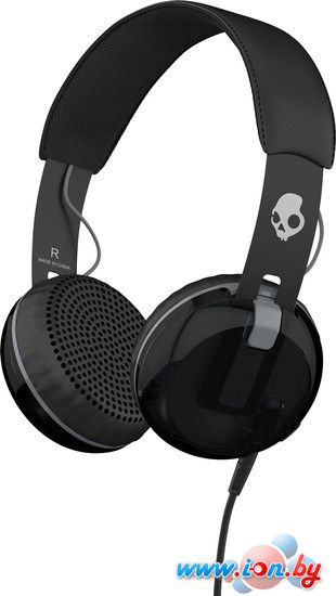 Наушники с микрофоном Skullcandy Grind Black в Могилёве