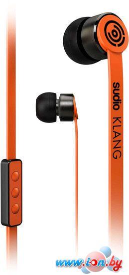 Наушники с микрофоном Sudio Klang (оранжевый) в Могилёве