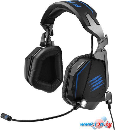 Наушники с микрофоном Mad Catz F.R.E.Q. TE 7.1 (черный-синий) в Могилёве