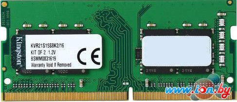 Оперативная память Kingston ValueRam 2x8GB DDR4 PC4-17000 [KVR21S15S8K2/16] в Могилёве