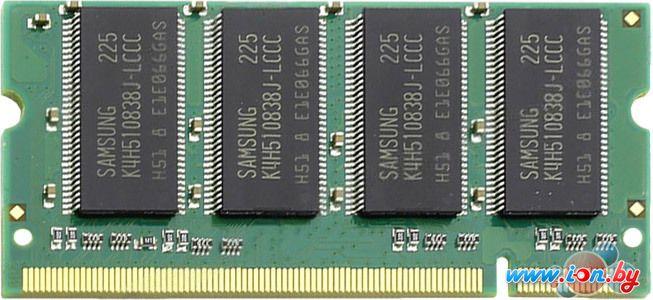 Оперативная память Transcend 512MB DDR SO-DIMM PC-3200 (TS64MSD64V4J) в Могилёве