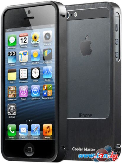 Чехол Cooler Master Aluminum Bumper for iPhone 5 Black (C-IF5C-ALSL-KK) в Могилёве