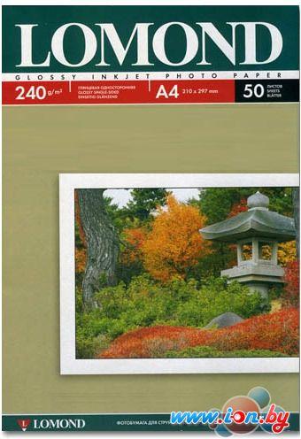 Фотобумага Lomond глянцевая односторонняя A4 240 г/кв.м. 50 листов (0102135) в Могилёве