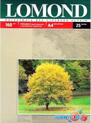 Фотобумага Lomond Глянцевая A4 160 г/кв.м. 25 листов (0102079) в Могилёве