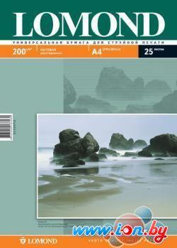 Фотобумага Lomond Матовая двухстороняя А4 200 г/кв.м. 25 листов (0102052) в Могилёве