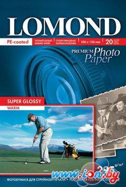 Фотобумага Lomond Суперглянцевая темно-белая A6 295 г/кв.м. 20 листов (1108103) в Могилёве