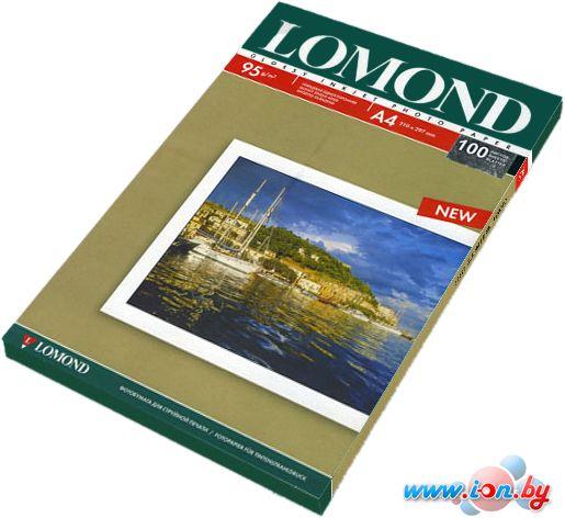 Фотобумага Lomond Глянцевая односторонняя A4 95 г/кв.м. 100 листов (0102145) в Могилёве