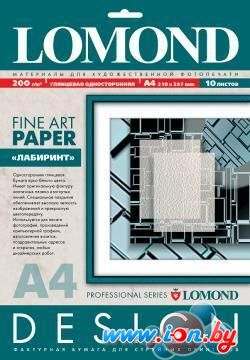 Фотобумага Lomond Labyrinth A4 200 г/кв.м. 10 листов (0924041) в Могилёве