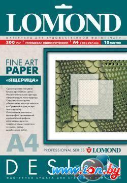 Фотобумага Lomond Lizard Skin A4 200 г/кв.м. 10 листов (0926041) в Могилёве