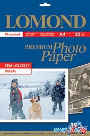 Фотобумага Lomond Premium Photo Paper A4 192 г/кв.м. 20 листов (1101307) в Могилёве