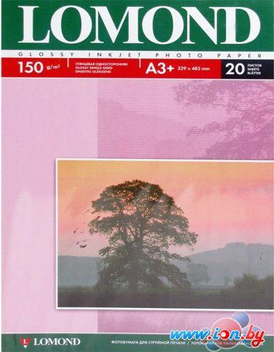 Фотобумага Lomond Глянцевая А3+ 150 г/кв.м. 20 листов (0102026) в Могилёве