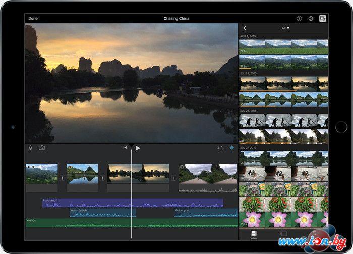 Планшет Apple iPad Pro 256GB LTE Space Gray в Могилёве