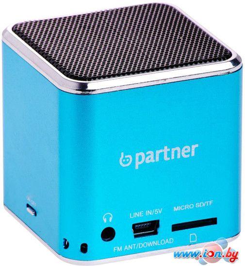 Портативная аудиосистема Partner Cube синяя [ПР028777] в Могилёве