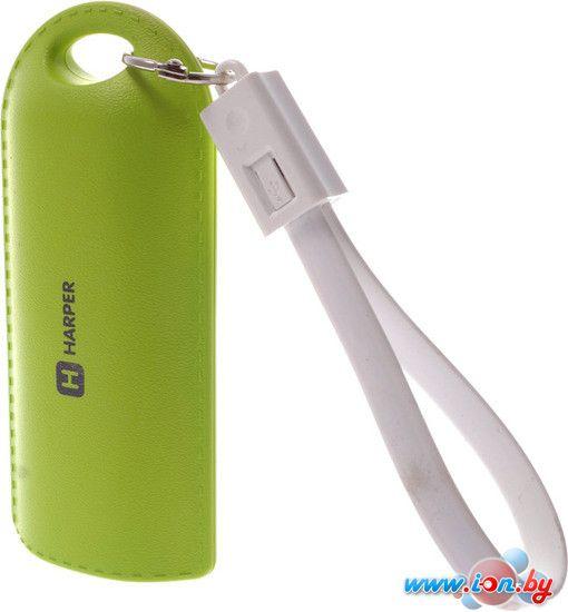 Портативное зарядное устройство Harper PB-0015 (зеленый) в Могилёве