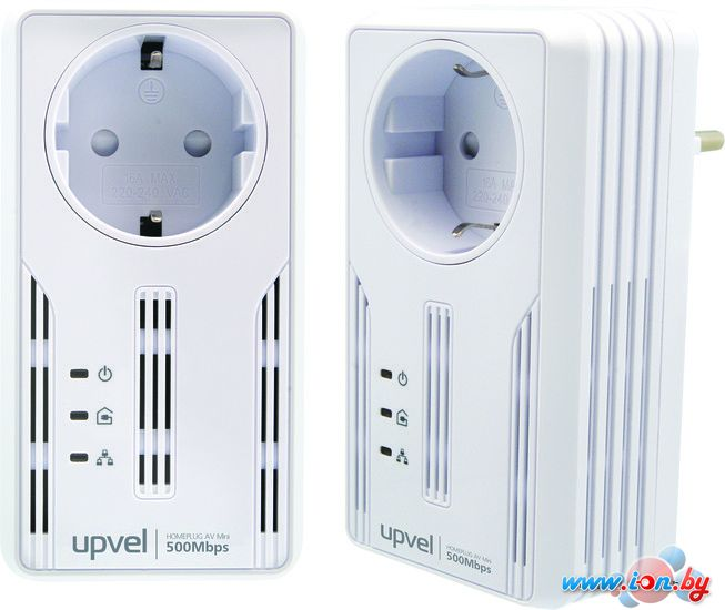 Комплект из двух powerline-адаптеров Upvel UA-252PSK в Могилёве