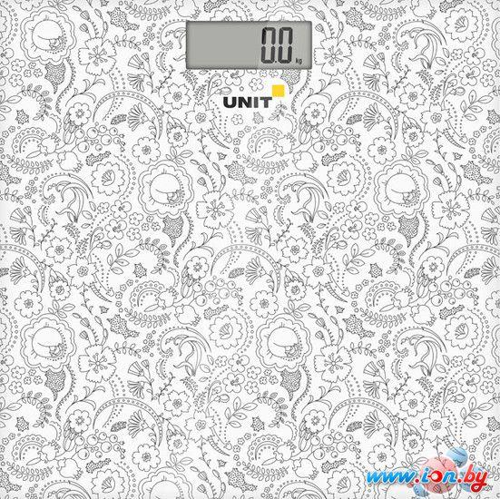 Напольные весы UNIT UBS-2052 (белый) в Могилёве