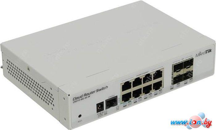 Коммутатор Mikrotik Cloud Router Switch [CRS112-8G-4S-IN] в Могилёве