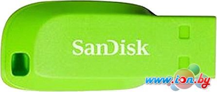 USB Flash SanDisk Cruzer Blade 32GB (зеленый) [SDCZ50C-032G-B35GE] в Могилёве