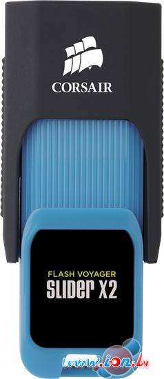 USB Flash Corsair Flash Voyager Slider X2 USB 3.0 128GB [CMFSL3X2-128GB] в Могилёве
