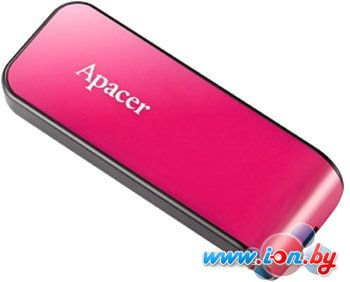 USB Flash Apacer AH334 Pink 8GB [AP8GAH334P-1] в Могилёве