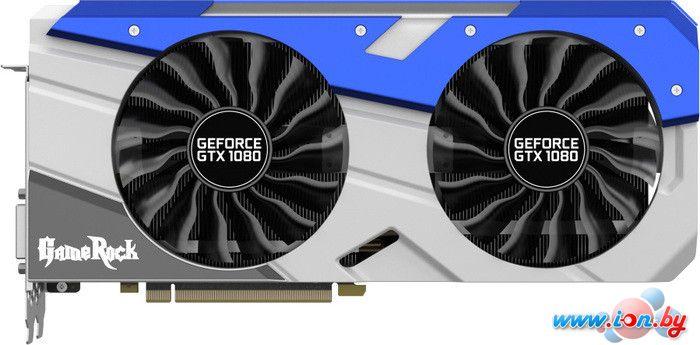 Видеокарта Palit GeForce GTX 1080 GameRock 8GB GDDR5X [NEB1080T15P2-1040G] в Могилёве