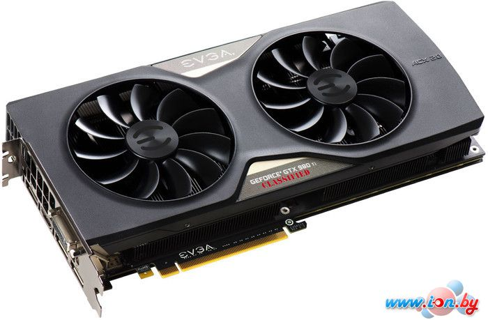 Видеокарта EVGA GeForce GTX 980 Ti Classified 6GB GDDR5 (06G-P4-4998-KR) в Могилёве