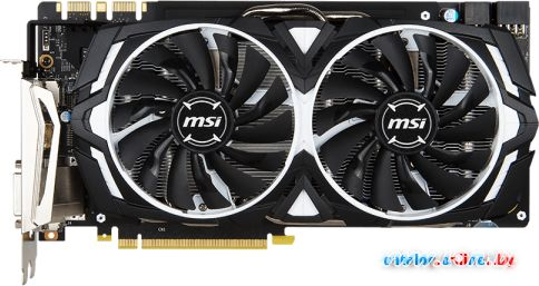 Видеокарта MSI GeForce GTX 1080 Armor 8GB GDDR5X [GTX 1080 ARMOR 8G OC] в Могилёве