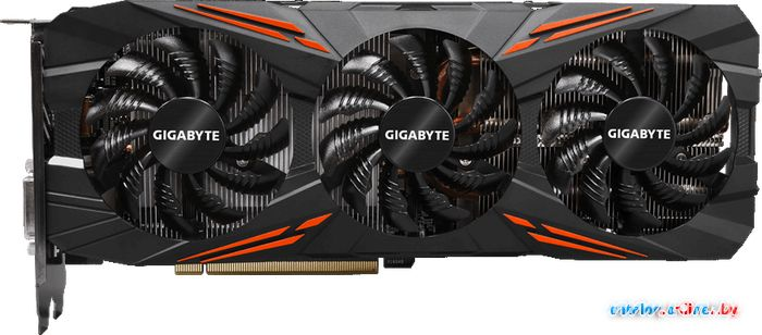 Видеокарта Gigabyte GeForce GTX 1080 G1 Gaming 8GB GDDR5X [GV-N1080G1 GAMING-8GD] в Могилёве