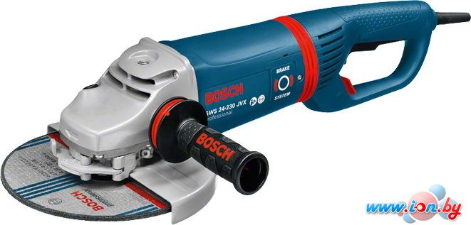 Угловая шлифмашина Bosch GWS 24-230 JVX Professional [0601864504] в Могилёве