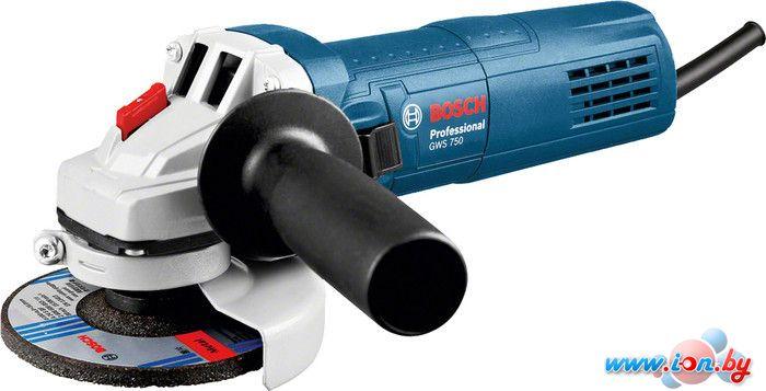 Угловая шлифмашина Bosch GWS 750-125 Professional [0601394001] в Могилёве