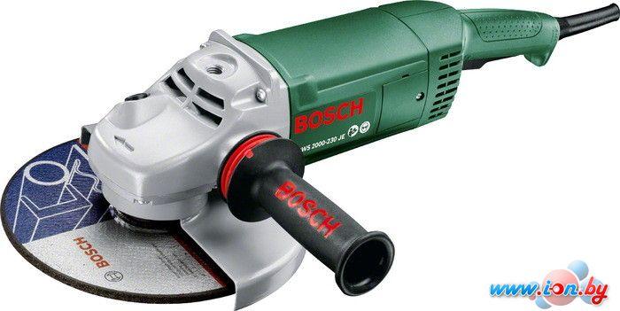 Угловая шлифмашина Bosch PWS 2000-230 JE [06033C6001] в Могилёве