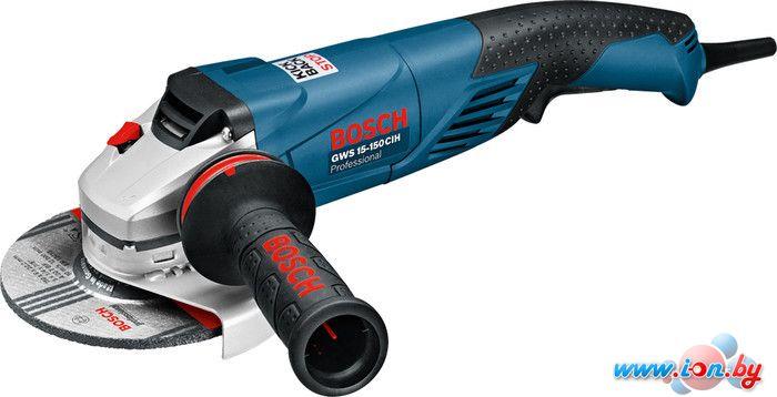 Угловая шлифмашина Bosch GWS 15-150 CIH Professional [0601830522] в Могилёве