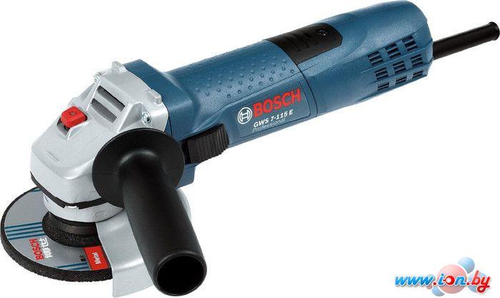 Угловая шлифмашина Bosch GWS 7-115 E Professional (0601388201) в Могилёве