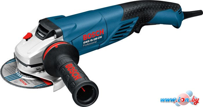 Угловая шлифмашина Bosch GWS 15-125 CIH Professional (0601830222) в Могилёве