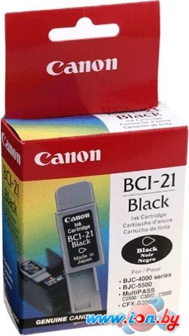 Картридж для принтера Canon BCI-21 Black в Могилёве