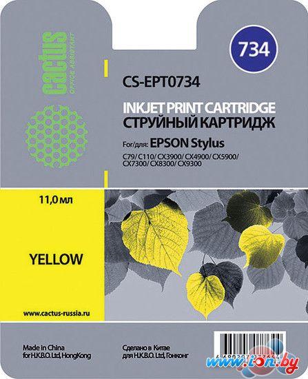 Картридж для принтера CACTUS CS-EPT0734 в Могилёве
