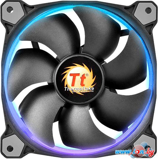 Кулер для корпуса Thermaltake Riing 12 LED RGB (3 fan pack) [CL-F042-PL12SW-B] в Могилёве