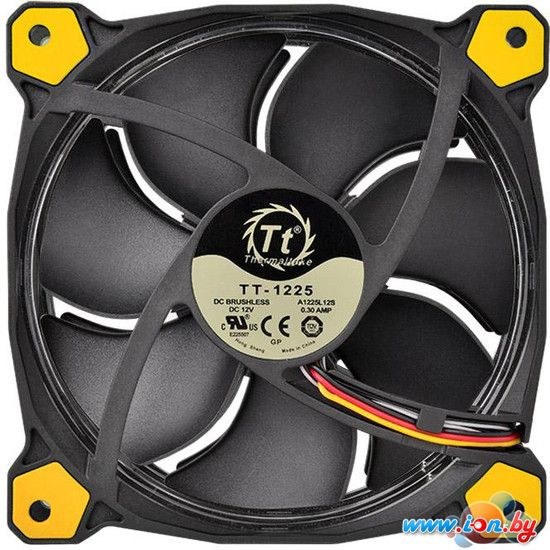 Кулер для корпуса Thermaltake Riing 12 LED Yellow (CL-F038-PL12YL-A) в Могилёве