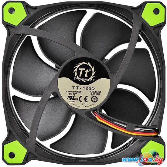 Кулер для корпуса Thermaltake Riing 12 LED Green (CL-F038-PL12GR-A) в Могилёве
