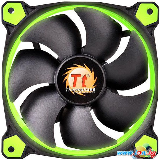 Кулер для корпуса Thermaltake Riing 14 LED Green (CL-F039-PL14GR-A) в Могилёве