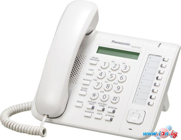 Проводной телефон Panasonic KX-DT521 White в Могилёве