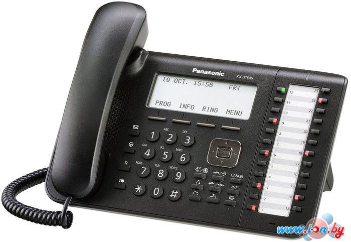 Проводной телефон Panasonic KX-DT546 Black в Могилёве