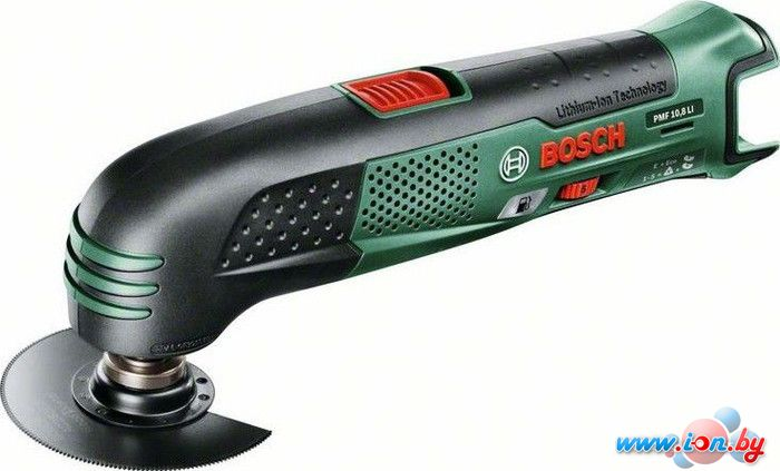 Мультифункциональная шлифмашина Bosch PMF 10.8 LI (0603101924) в Могилёве