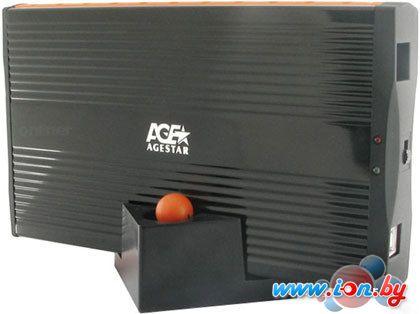 Бокс для жесткого диска AgeStar SUB3A1 Black/Orange в Могилёве