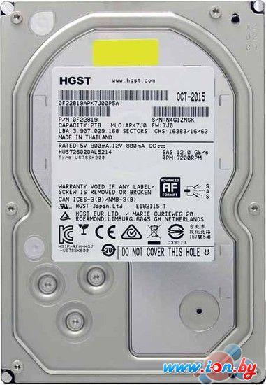 Жесткий диск Hitachi 2TB [HUS726020AL5214] в Могилёве