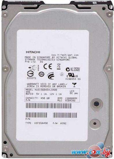 Жесткий диск Hitachi Ultrastar 15K600 450GB (HUS156045VLF400) в Могилёве