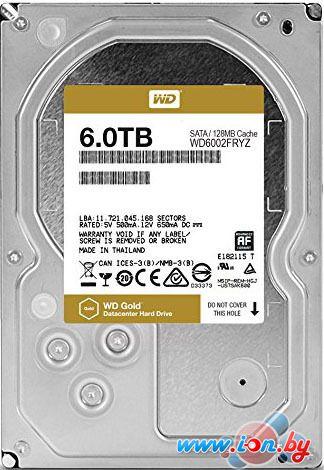 Жесткий диск WD WD Gold 6TB [WD6002FRYZ] в Могилёве